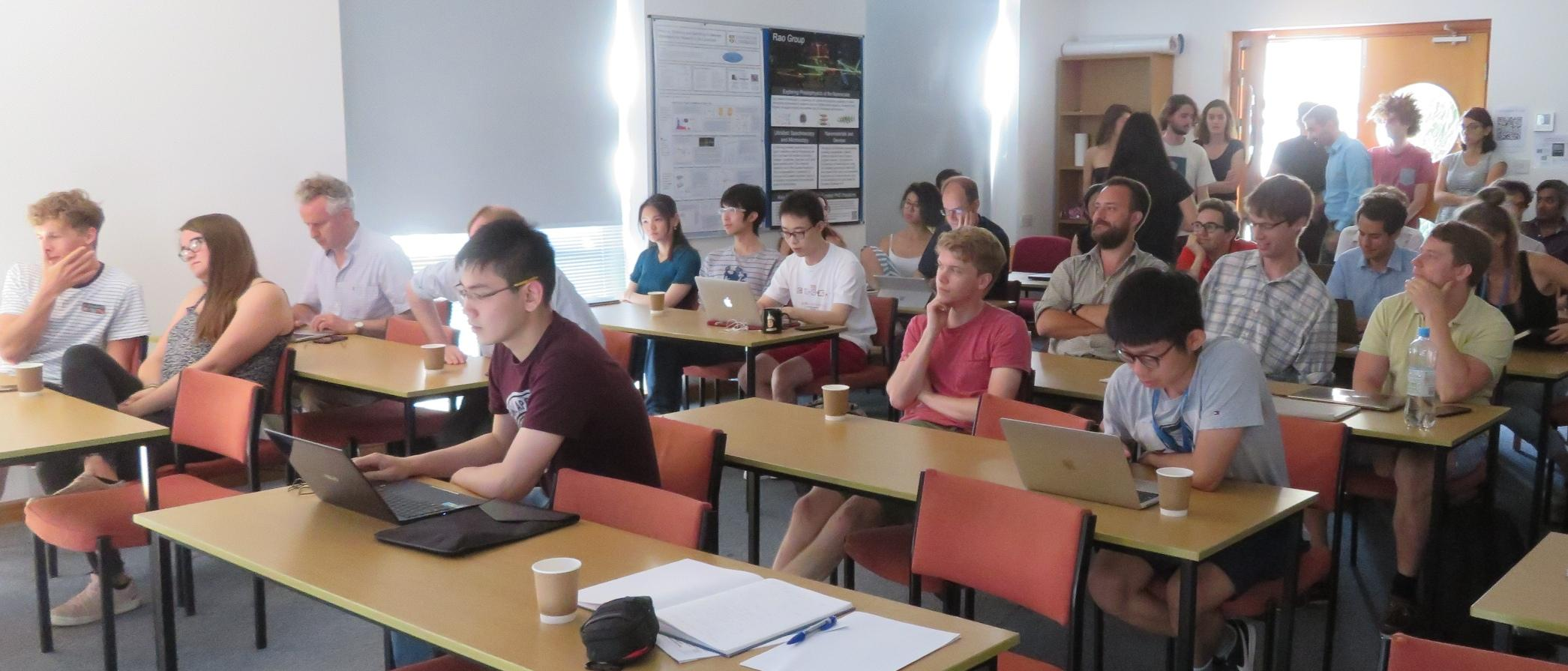 First Year Students present their reports - July 2019